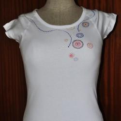 Dámské tričko perličkové Johanka