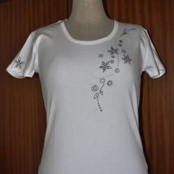 Dámské tričko perličkové Linda