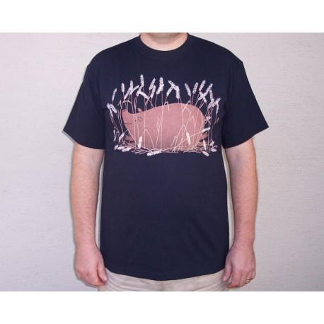 Pánské tričko Prase v žitě