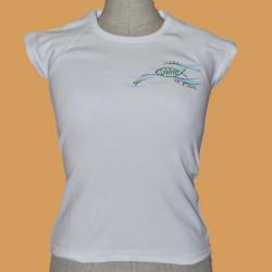 Dámské tričko Ryba -...
