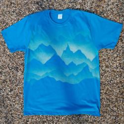 Dámské tričko Hory