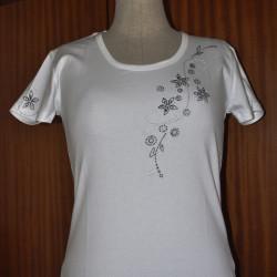 Dámské tričko Perličkové...