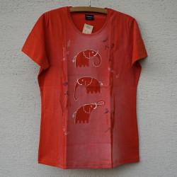 Dámské tričko Tři sloni...