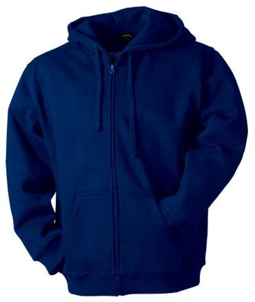 Pánská s kapucí a zipem